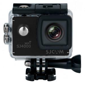 SJCAM Action Cam SJ4000 WiFi, 2K, 12MP, 2 LCD, αδιάβροχη, μαύρη SJ4000-WIFI