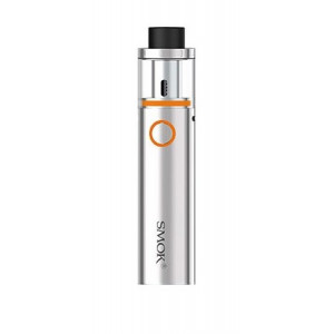 SMOK Ηλ. Τσιγαρο Vape Pen 22 Kit, 1650mAh, 22mm, Top fill, Silver SM-PEN-SL