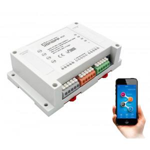 SONOFF Smart Διακόπτης WiFi 4CH R2, 4 θέσεων, 10A, WiFi, λευκό SNF-4CHR2