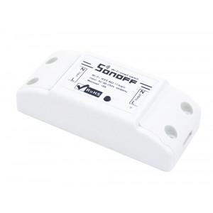 SONOFF Smart Ασύρματος Διακόπτης Basic, Wifi, 10A, λευκό SNF-BASIC