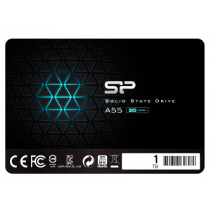 SILICON POWER SSD A55 1TBB, 2.5, SATA III, 560-530MB/s 7mm, TLC SP001TBSS3A55S25