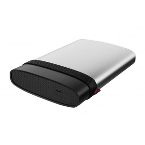 SILICON POWER εξωτερικός HDD 1TB Armor A85, USB 3.1, ασημί SP010TBPHDA85S3S