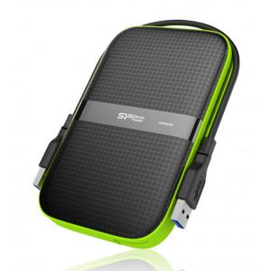 SILICON POWER εξωτερικός HDD Armor A60 2TB, USB 3.1, μαύρο SP020TBPHDA60S3K