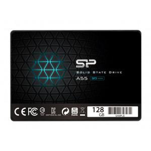 SILICON POWER SSD A55 128GB, 2.5, SATA III, 560-530MB/s 7mm, TLC SP128GBSS3A55S25