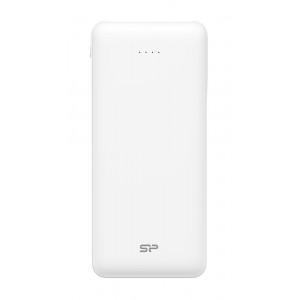SILICON POWER Power Bank C200 20000mAh, 2x USB Output, White SP20KMAPBK200CPW