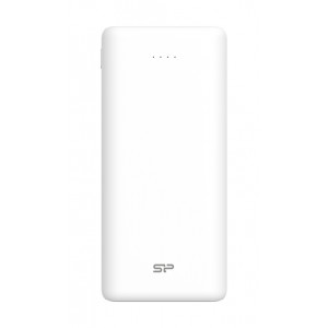 SILICON POWER Power Bank C20QC 20000mAh, 3x output, QC3.0, PD 18W, λευκό SP20KMAPBKC20QCW