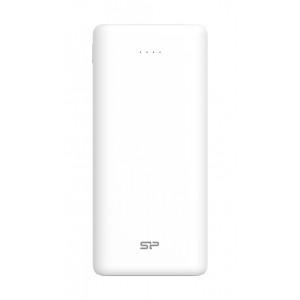 SILICON POWER Power Bank C20QC 20000mAh, 3x output, QC3.0, PD 18W, λευκό SP20KMAPBKC20QCW
