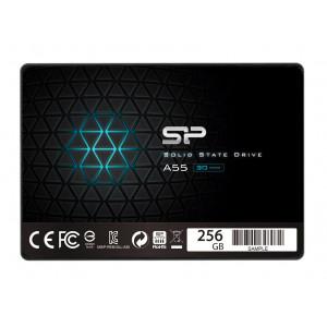 SILICON POWER SSD A55 256GB, 2.5, SATA III, 560-530MB/s 7mm, TLC SP256GBSS3A55S25