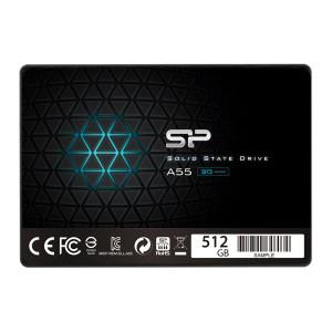 SILICON POWER SSD A55 512GB, 2.5, SATA III, 560-530MB/s 7mm, TLC SP512GBSS3A55S25