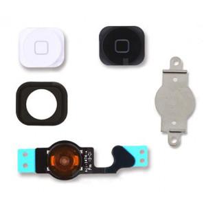 Πλήκτρα Home button με Flex SPIP5-092 για iPhone 5, λευκό & μαύρο SPIP5-092