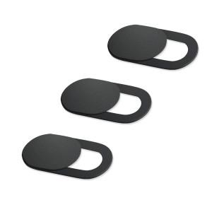 Προστατευτικό κάλυμμα κάμερας SPPIP-001, universal, 3τμχ, μαύρο SPIPP-001