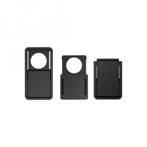 Προστατευτικό κάλυμμα κάμερας SPPIP-002, 3 μεγέθη, μαύρο SPIPP-002