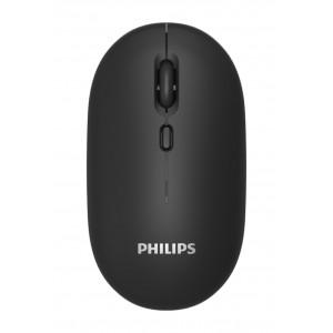 PHILIPS ασύρματο ποντίκι SPK7203, 1600DPI, 4 πλήκτρα, μαύρο SPK7203-BK