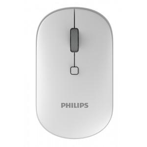PHILIPS ασύρματο ποντίκι SPK7403, 2000DPI, 4 πλήκτρα, λευκό SPK7403-WH