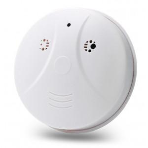 Κρυφή κάμερα τύπου ανιχνευτή καπνού SPY-014, Full HD, Wi-Fi, λευκή SPY-014
