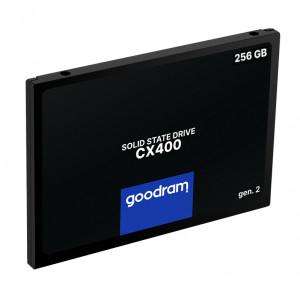 GOODRAM SSD CX400 Gen.2 256GB, 2.5, SATA III, 550-480MB/s, 3D TLC NAND SSDPR-CX400-256-G2