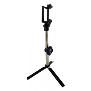 Bluetooth selfie stick ST13F με τρίποδο, 19-81cm, μαύρο ST13F