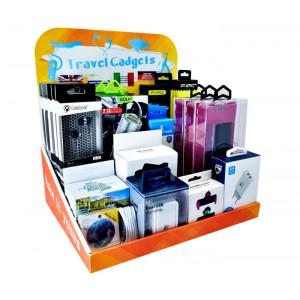 Επιτραπεζιο Stand προωθησης Travel Gadgets, 70 x 50 x 30 STAND-CRTN-TRVL
