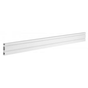 BRATECK αλουμινένιο πάνελ γραφείου SW01-3, SW series, 1200x22x100mm SW01-3
