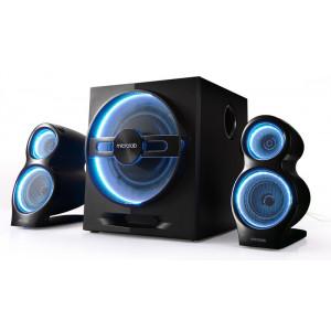 MICROLAB ηχεία T10, 2.1ch, Bluetooth, 24W & 2x 16W, 3.5mm, μαύρα T10-BK