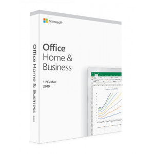 MICROSOFT Office Home and Business 2019 T5D-03216, medialess, 1 έτος, EN T5D-03216