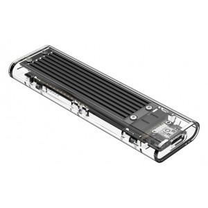 ORICO θήκη για Μ.2 B key SSD TCM2-C3, USB3.1, 10Gbps, 2TB, μαύρο TCM2-C3-BK-BP