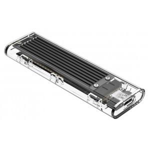 ORICO θήκη για Μ.2 B key SSD TCM2F-C3, USB3.1, 5Gbps, 2TB, μαύρο TCM2F-C3-BK-BP