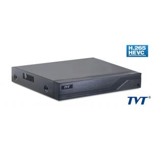 TVT Υβριδικό καταγραφικό TD-2104TS-HC, H265+ Full HD, 2x IP, 4 Κανάλια TD-2104TS-HC