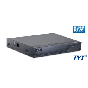 TVT Υβριδικό καταγραφικό TD-2116TS-HC, H265+ Full HD, 8x IP, 16 Κανάλια TD-2116TS-HC