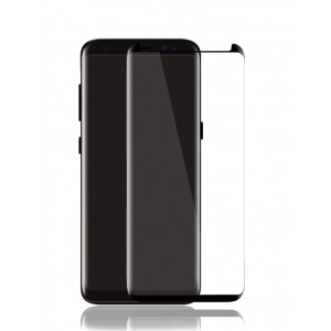 POWERTECH Tempered Glass 3D Full Face, S8 Plus, Curved transparent TGC-0036