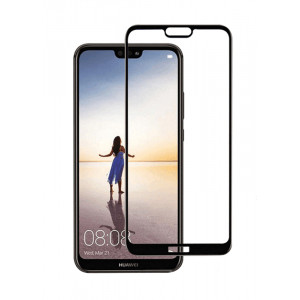 POWERTECH Tempered Glass 3D, για Huawei P20, Black TGC-0092