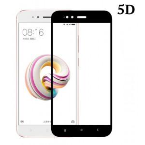 POWERTECH Tempered Glass 5D Full Glue για Xiaomi Mi A1 Qualcomm, μαύρο TGC-0300