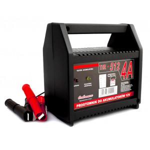 Φορτιστής μπαταριών οχημάτων 12V/4A THR-512 THR-512