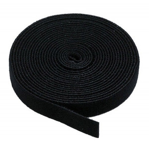 POWERTECH ταινια τυπου velcro πολλαπλων χρησεων, 13mm, 3m, Black TIES-002