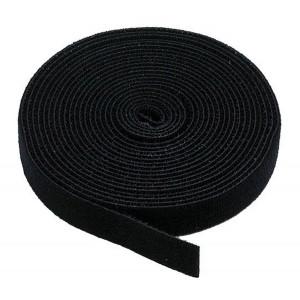 POWERTECH ταινια τυπου velcro πολλαπλων χρησεων, 30mm, 3m, Black TIES-003
