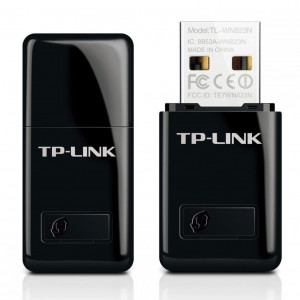 TP-LINK 300Mbps Mini Ασύρματο N USB Adapter - TL-WN823N