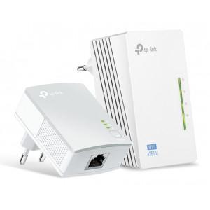 TP-LINK Wi-Fi AV600 Powerline Extender Kit TL-WPA4220, 300Mbps, Ver. 4.0 TL-WPA4220-KIT