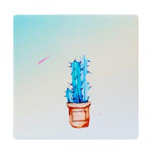 Καθρεφτάκι τσάντας Blue cactus TMV-0007-10, 2x & 4x zoom, 8x8cm TMV-0007-10