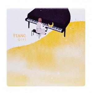 Καθρεφτάκι τσάντας Brown piano TMV-0007-2, 2x & 4x zoom, 8x8cm TMV-0007-2