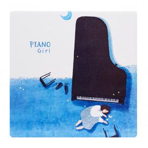 Καθρεφτάκι τσάντας Blue piano TMV-0007-4, 2x & 4x zoom, 8x8cm TMV-0007-4