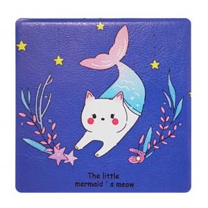 Καθρεφτάκι τσάντας Blue cat TMV-0007-6, 2x & 4x zoom, 8x8cm TMV-0007-6