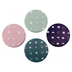 Καθρεφτάκι τσάντας TMV-0012, 2x & 4x zoom, 8x8cm, 12τμχ TMV-0012