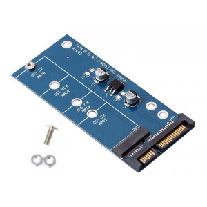 POWERTECH Converter SATA 22pin σε M.2 SSD TOOL-0019, 2230/2242/2260/2280 TOOL-0019