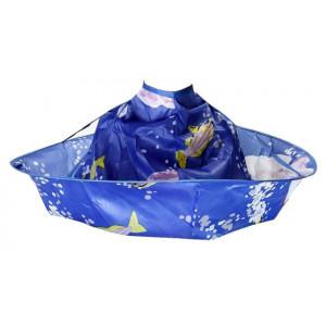 Παιδική μπέρτα κουρέματος TOOL-0037, με μεταλλικό frame, μπλε TOOL-0037