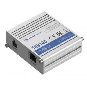 TELTONIKA industrial rugged LTE gateway TRB140, 4G LTE Cat 4 TRB1400003000
