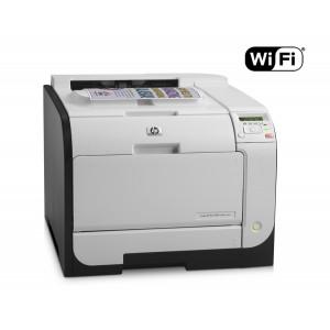 HP used Printer LaserJet M451nw, WiFi, Laser, Color, με toner U-M451NW