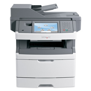 LEXMARK used MFP Printer X466de, Mono, Laser, με toner U-X466DE