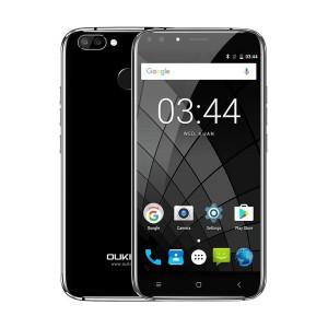 OUKITEL Smartphone U22, 5.5 HD, 2GB/16GB, 4 Cameras, Black U22-BK