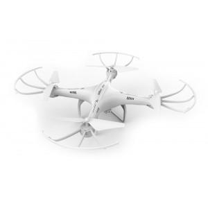 UDIRC Drone U42 Swan, 720P HD Camera, 360° flips, 6-Axis, λευκο U42