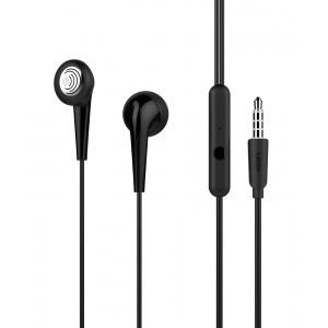 UIISII Earphones U6, Hi-Res Audio, mic, 102db, 1.2m, μαύρα U6-BK
